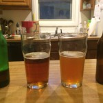 Taste test vs. Yuenling lager, because that's what I had around.