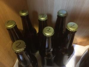 Brew #2 - bottled