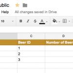 Cost per beer